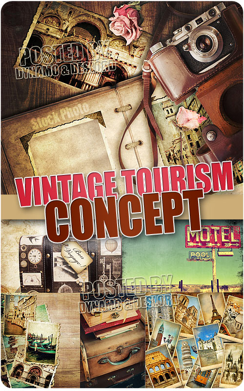 Vintage Tourism Concept - UHQ Stock Photo
