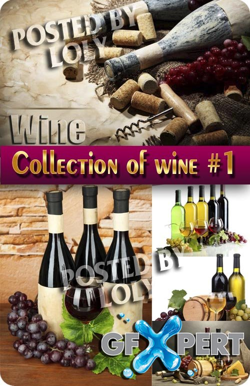Drinks. Mega Collection. Wine #1 - Stock Photo