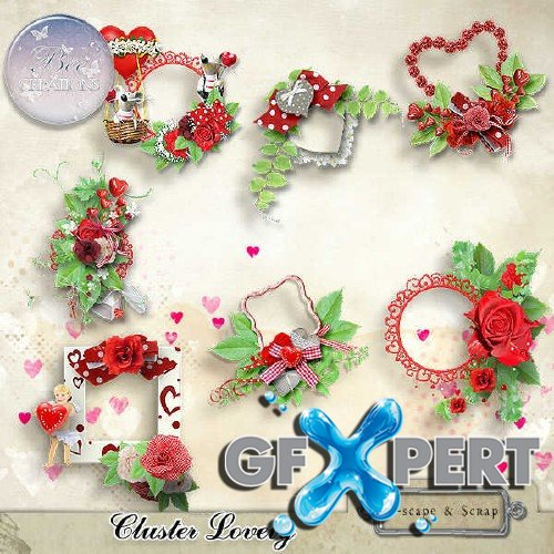 Amorous scrap kit - Lovely