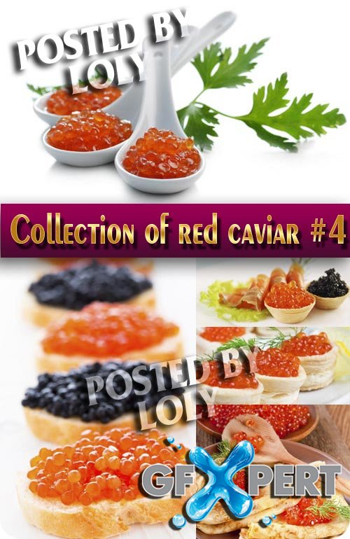 Food. Mega Collection.Red caviar #5 - Stock Photo