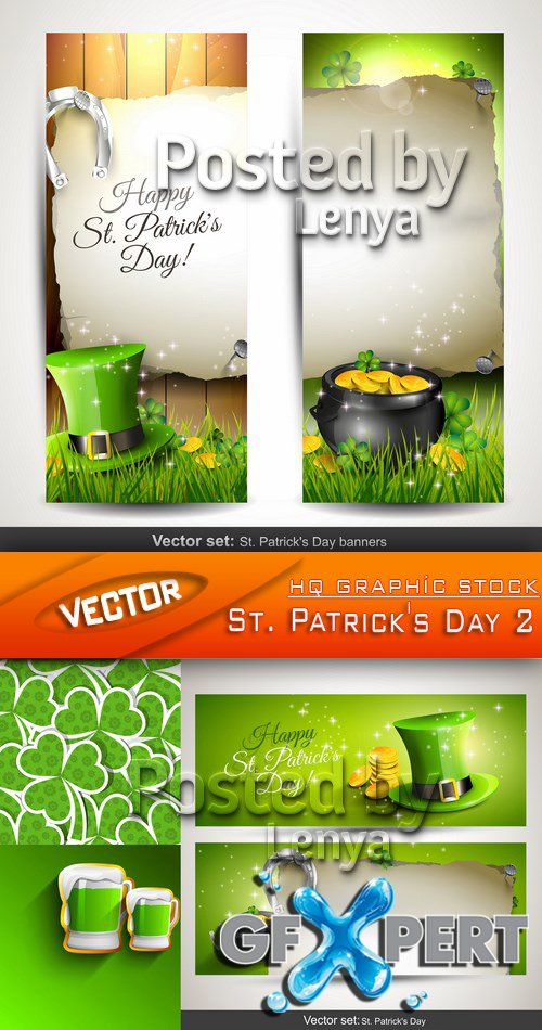 Stock Vector - St. Patrick's Day 2