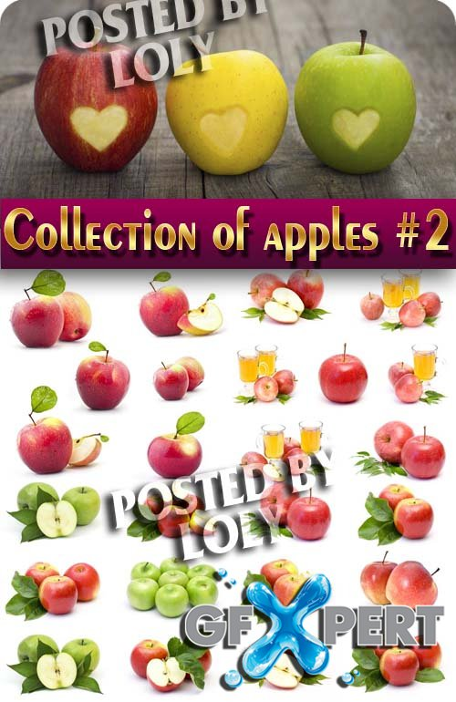 Food. Mega Collection. Apples #2 - Stock Photo