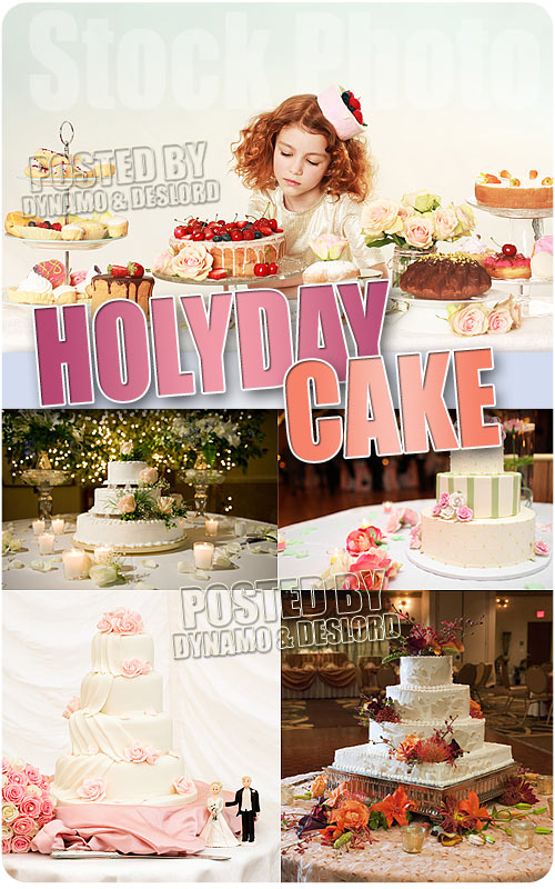 Holiday Cake - UHQ Stock Photo