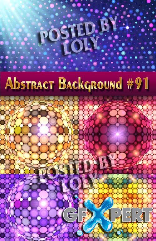 Vector Abstract Backgrounds #91 - Stock Vector