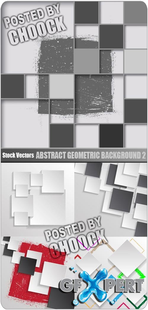 Abstract geometric background 2 - Stock Vector