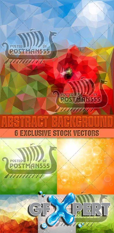 Abstract style backgrounds 10 - Vector
