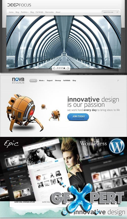 ThemeForest & ElegantThemes Premium WordPress Themes Vol.02