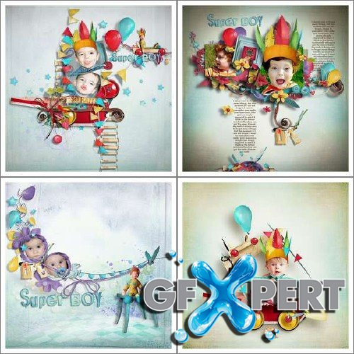 Digital scrap kit - Everyday Fun