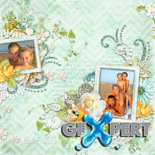 Gorgeous scrap kit - Say it with Flowers
