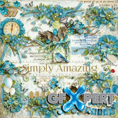 Scrap kit - Simply Amazing