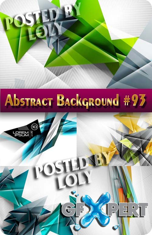 Vector Abstract Backgrounds #93 - Stock Vector
