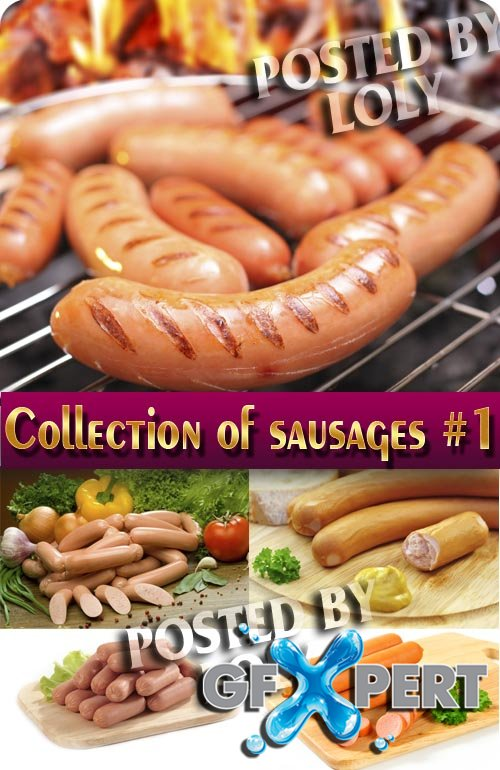 Food. Mega Collection. Sausages #1 - Stock Photo