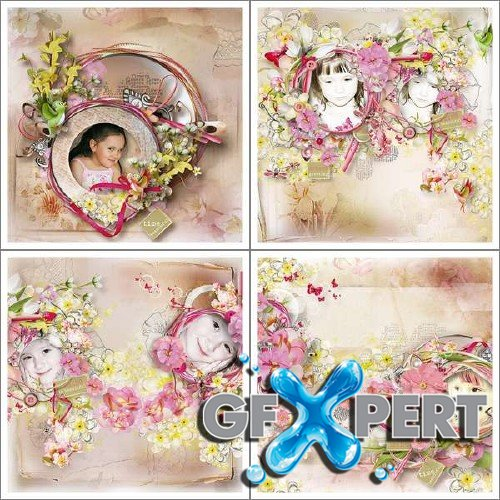 Digital scrap kit - Spring Greeting