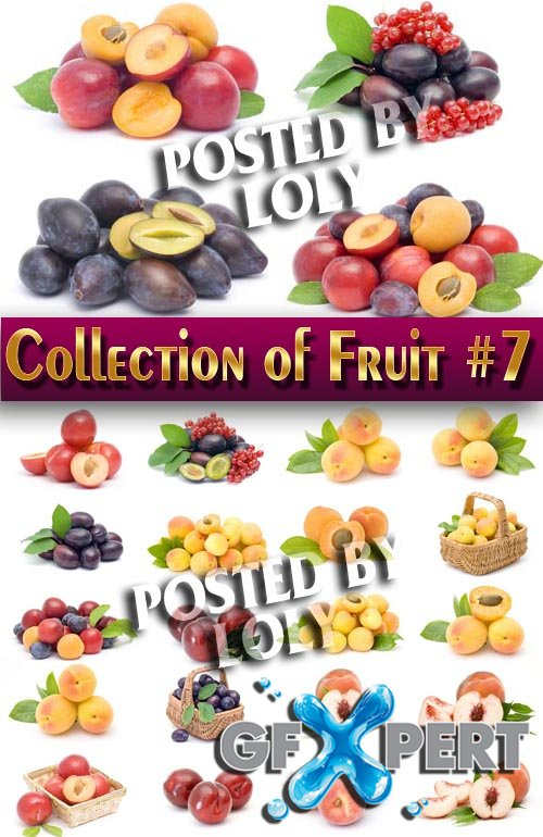 Food. Mega Collection. Fruit #7 - Stock Photo