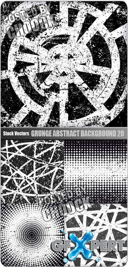 Grunge abstract background 20 - Stock Vector