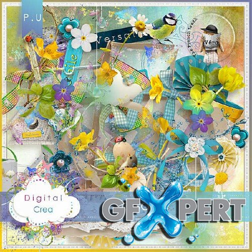 Beautiful scrap kit - Versatile