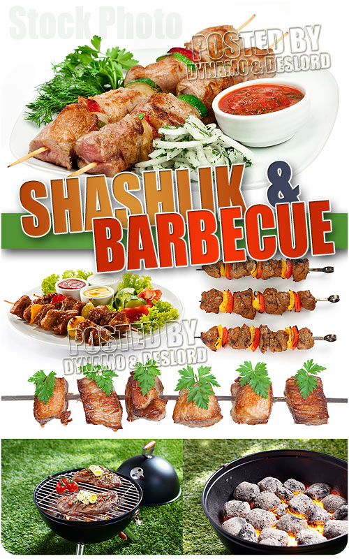 Shashlik and Barbecue - UHQ Stock Photo