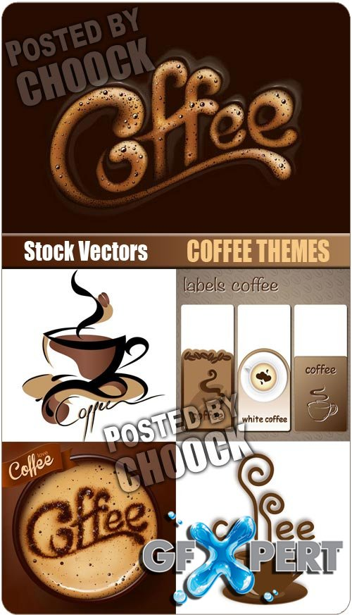 Coffee themes - Stock Vector