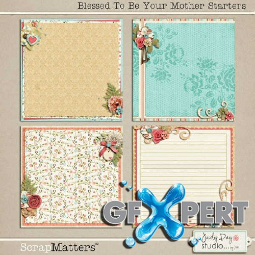Gorgeous scrap set - Blessed To Be Your Mother
