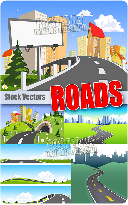 Roads - Stock Vectors