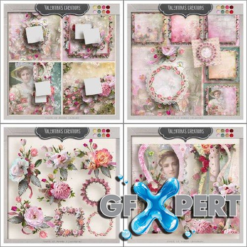 Stunning scrap set - Touch of Roses