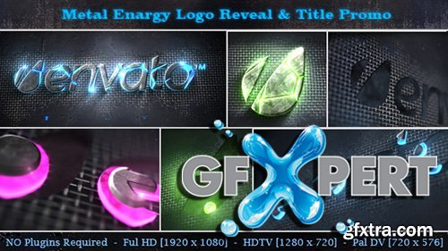 Videohive Metal Energy Logo Reveal & Title Promo