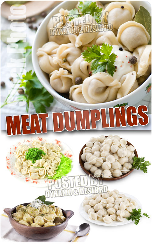 Meat dumplings - UHQ Stock Photo