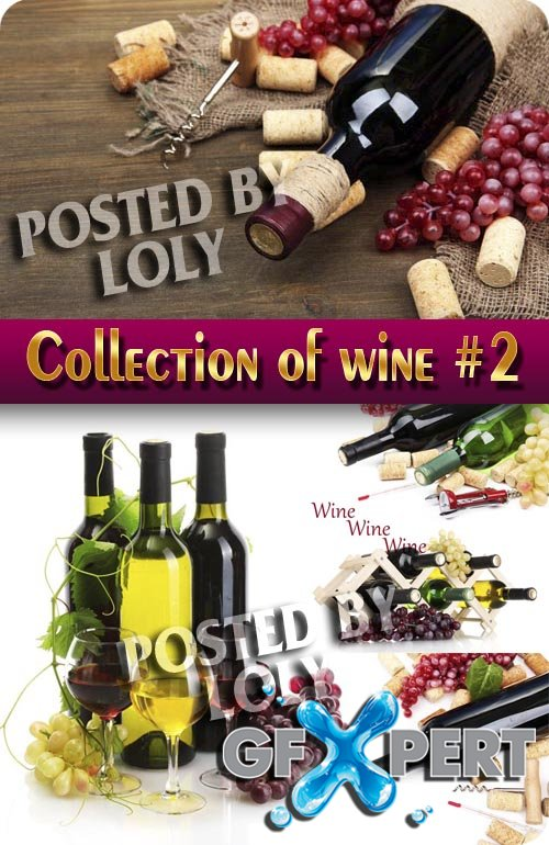 Drinks. Mega Collection. Wine #2 - Stock Photo