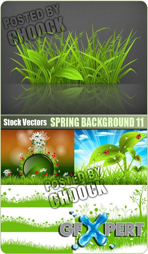 Spring background 11 - Stock Vector