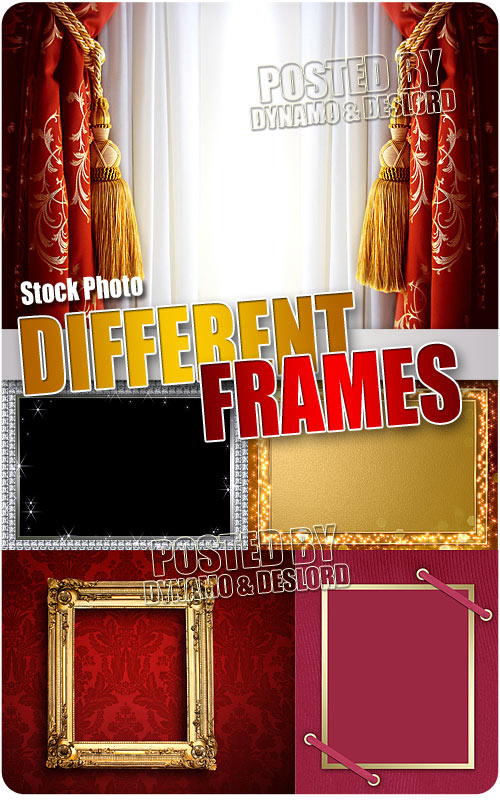 Different Frames - UHQ Stock Photo