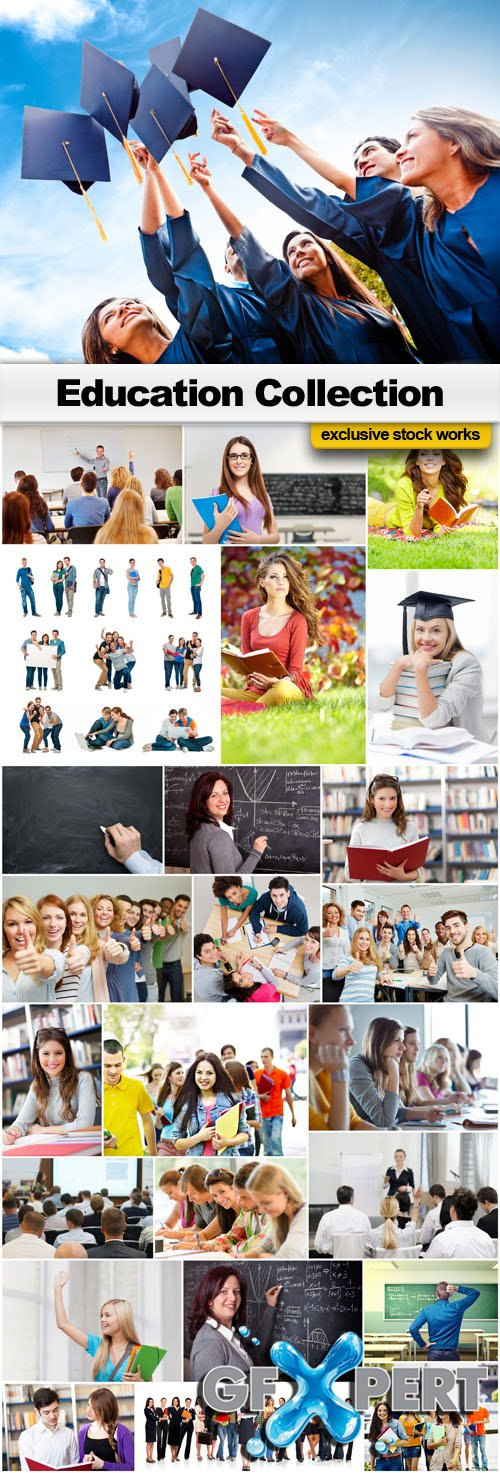 Education Collection - Stock Photo