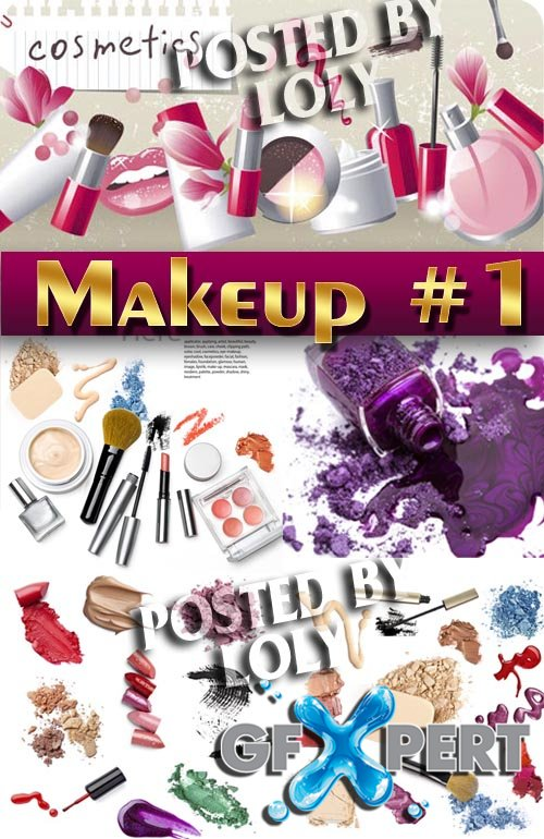 Makeup and Cosmetics #1 - Stock Photo