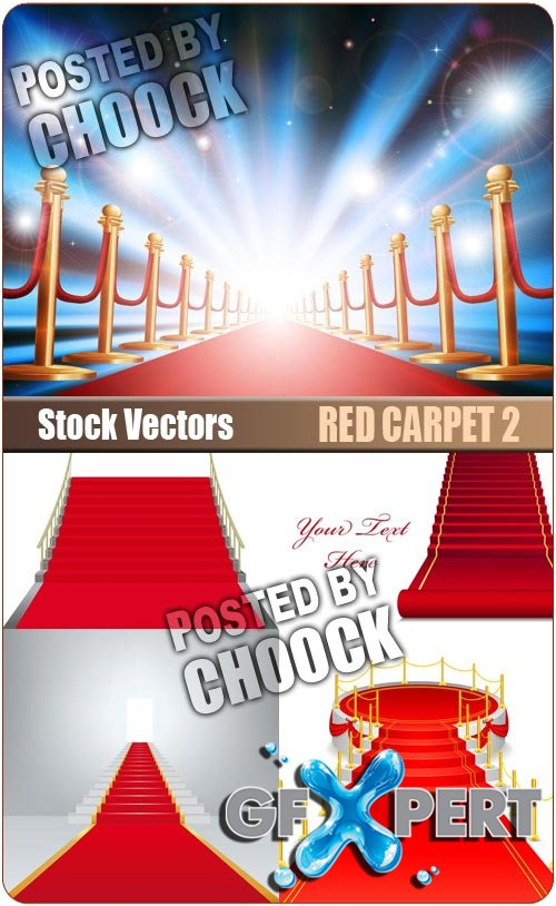 Red carpet 2 - Stock Vector