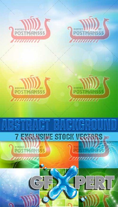 Abstract style backgrounds 11, Vector