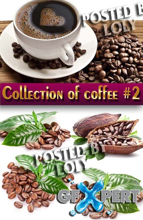 Food. Mega Collection. Coffee and coffee beans #2 - Stock Photo