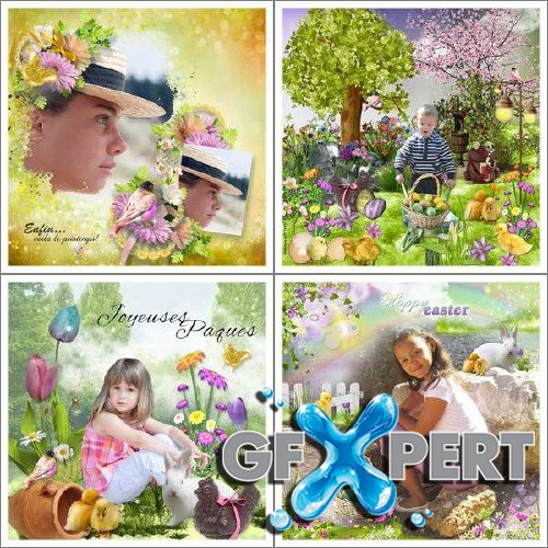 Scrapbooking kit - It's Easter