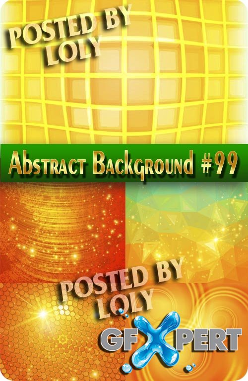 Vector Abstract Backgrounds #99 - Stock Vector
