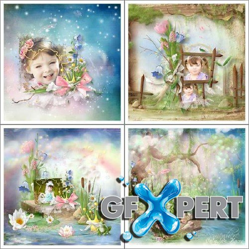 Scrapbooking set - The Frog Prince