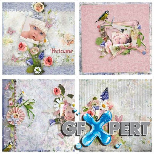 Perfect scrap kit - Fairy Garden
