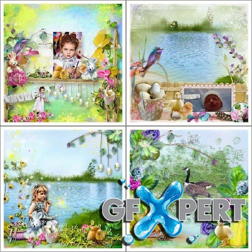 Digital scrapbooking kit - Easter For Fun