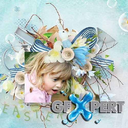 Scrapbooking set - Pastel Easter