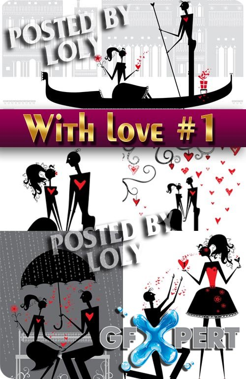 With Love... #1 - Stock Vector