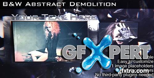 VideoHive B&W Abstract Demolition 3239575 HD