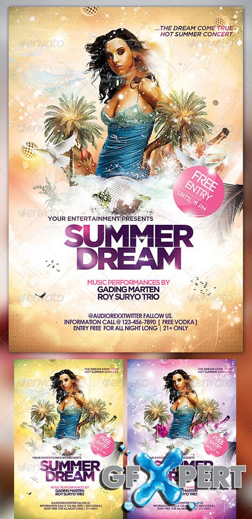 Summer Dream Flyer