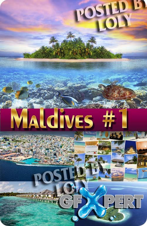 Maldives #1 - Stock Photo