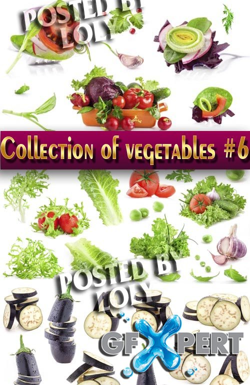 Food. Mega Collection. Vegetables #6 - Stock Photo