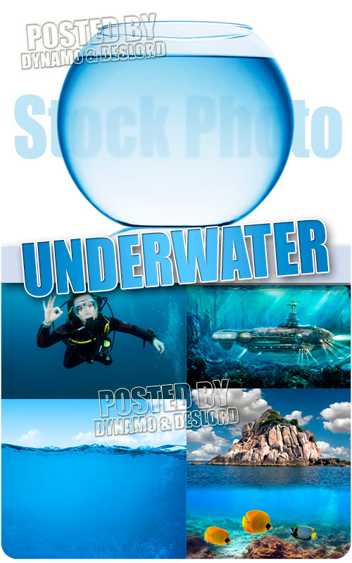 Underwater - UHQ Stock Photo