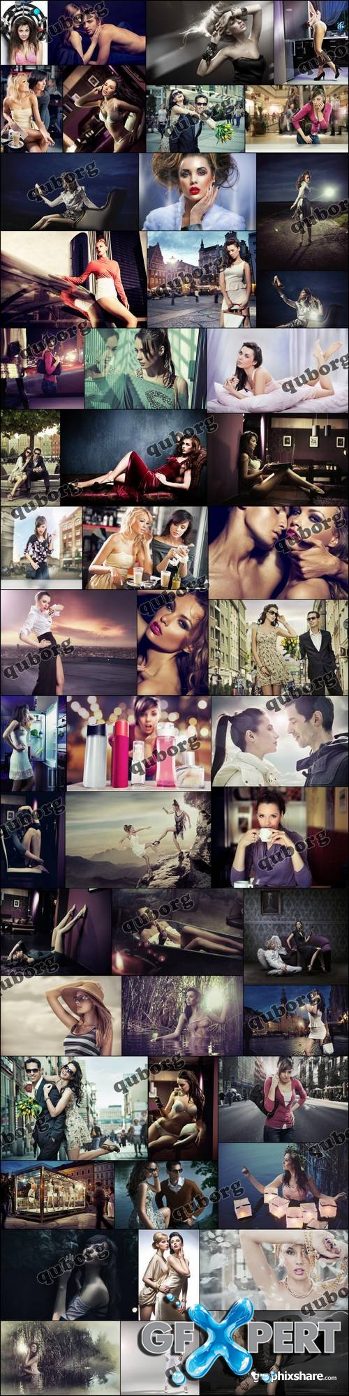 Stock Photos - Amazing Women Bundle 3