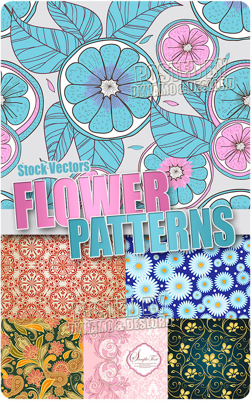Floral patterns - Stock Vectors