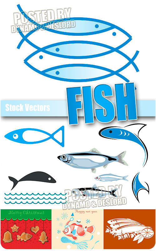 Fish - Stock Vectors